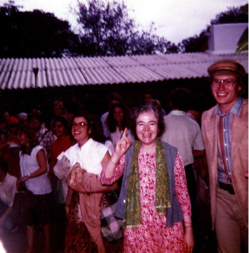 Charles with Mani Irani and Heather Nadel behind her - India.