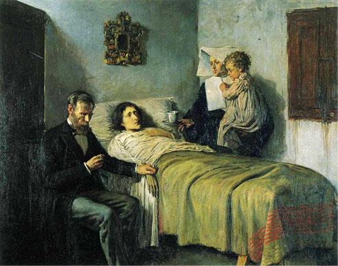 Pablo Picasso, Scienza e Carità