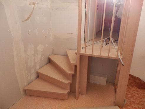 Treppe von Claus Kempe, Burgdorf