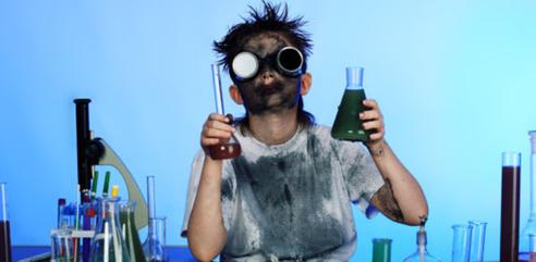 Bild: experimentieren statt auswendig lernen