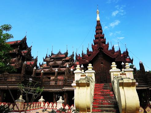 Shwe In Bin Kyaung Kloster