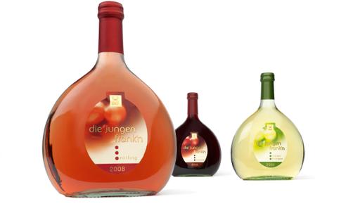 GWF - Die Jungen Frank'n - Frankn - Franken - Wein - Exklusiv - Relaunch - Marke - Rotwein - Weißwein - Packaging - Design - DesignKis - Verpackung