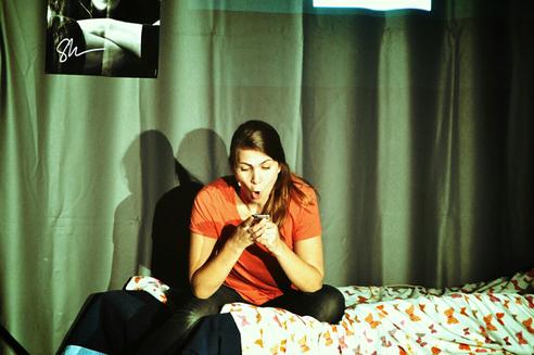 Protagonistin Lea (Nadine Karbacher)