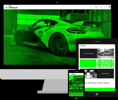 Jimdo Expert Stuttgart - Webdesign & SEO für Jimdo die Homepage: Blickwerbung.de