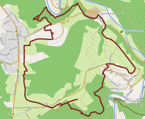 """GPXTrack """"9 km Stollen-Rundweg Helmeroth-Bruchertseifen"""""""