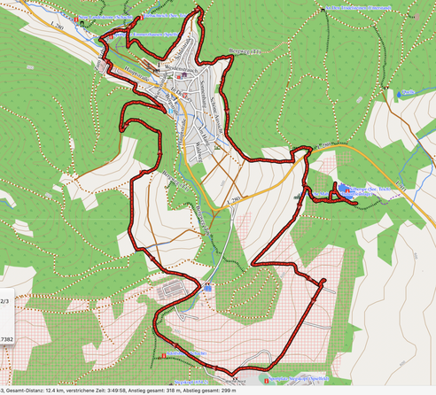 "GPXTrack ""12,5 km Panoramaweg Emmerzhausen"""