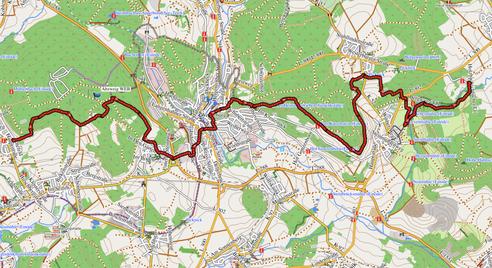 GPXTrack 5.  Etappe WW-Steig  Brandscheid - Hofgut Dapprich