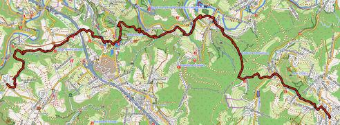 GPXTrack 14. Etappe WW-Steig