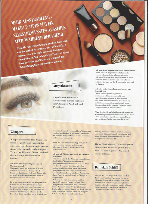 Amoena4Life Artikel Chemotherapie Moni Gutezeit