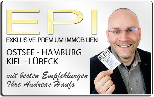IMMOBILIENMAKLER KIEL HAMBURG OSTSEE LÜBECK  -ANDREAS HAUFS EPI IMMOBILIEN IMMOBILIENAGETUR DPI