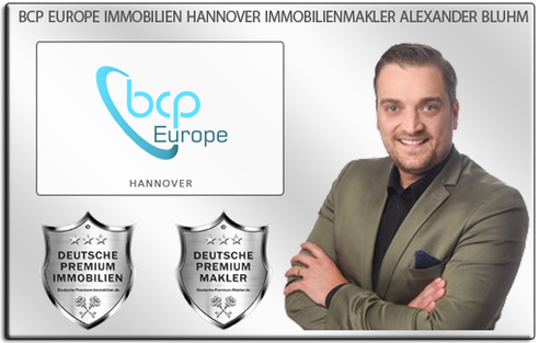 IMMOBILIENMAKLER HANNOVER ALEXANDER BLUHM IMMOBILIEN BCP EUROPE