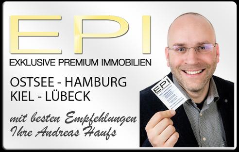 IMMOBILIENMAKLER OSTSEE HAMBURG KIEL LÜBECK - ANDREAS HAUFS EPI IMMOBILIEN IMMOBILIENAGETUR DPI