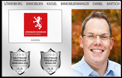IMMOBILIENMAKLER KASSEL DANIEL BARTSCH LÖWENBURG IMMOBILIEN MAKLER KASSEL DANIEL BARTSCH LÖWENBURG IMMOBILIEN IMMOBILIENANGEBOTE MAKLEREMPFEHLUNG