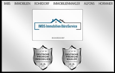 IMMOBILIENMAKLER ROHRDORF IMMOBILIEN MAKLER ROHRDORF ALFONS HORMAIER IMBS IMMOBILIEN IMMOBILIENANGEBOTE MAKLEREMPFEHLUNG