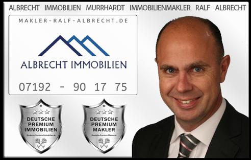 IMMOBILIENMAKLER MURRHARDT RALF ALBRECHT IMMOBILIEN MAKLER IMMOBILIENANGEBOTE MAKLEREMPFEHLUNG