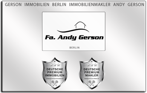 IMMOBILIENMAKLER BERLIN ANDY GERSON IMMOBILIEN IMMOBILIENANGEBOTE MAKLEREMPFEHLUNG