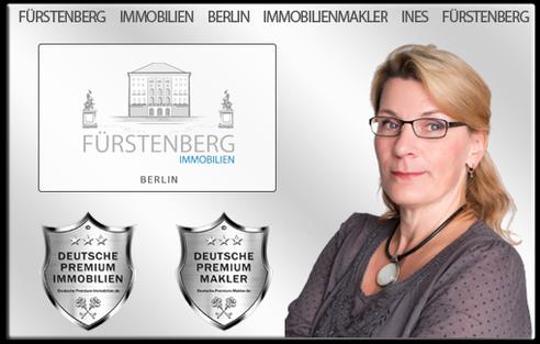 IMMOBILIENMAKLER BERLIN INES FÜRSTENBERG IMMOBILIEN  IMMOBILIEN MAKLER IMMOBILIENANGEBOTE MAKLEREMPFEHLUNG IMMOBILIENBEWERTUNG IMMOBILIENAGENTUR IMMOBILIENVERMITTLER