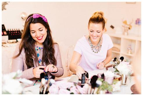 Makeup partys para bodas