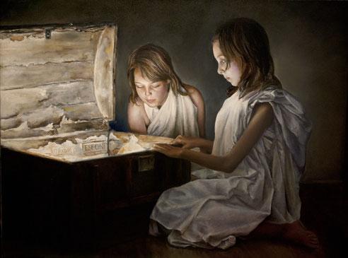 Retratos al óleo.Pintura