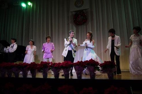 2015/12ソロプチミスト宝塚チャリティークリスマスコンサートのフィナーレ