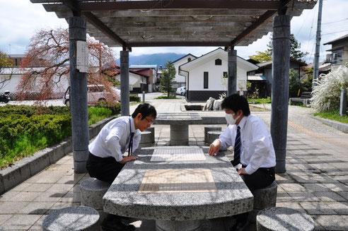 日本一、二を争う囲碁プレイヤーが多い市役所・大町(※個人の感想です)