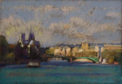 Paris, Seine, Notre Dame, Saint Louis, île, pont, Neuf, Alexandre, Mirabeau