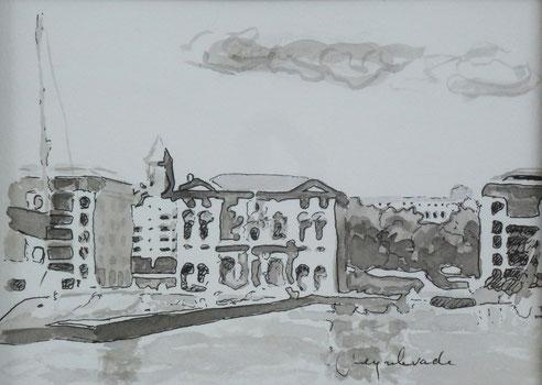 Marseille,quai, mairie, Accoules, Hotel Dieu, Pouillon, immeubles,