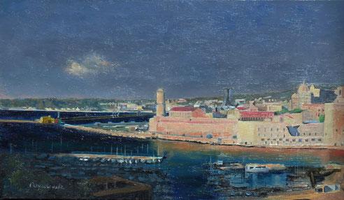 Marseille, port, Vieux-Port, phanal, fort Saint Jean, tour du roi René, Pharo, Estaque,