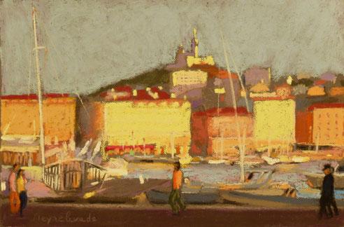 promenade, quai, mairie, rive neuve, Marseille, Vieux port,