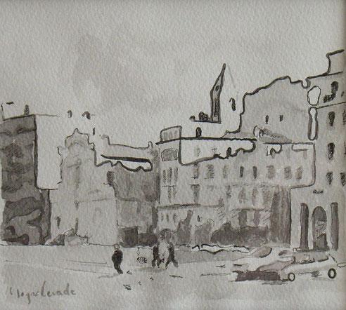 Marseille, quai, Belges, Canebière, Augustins,