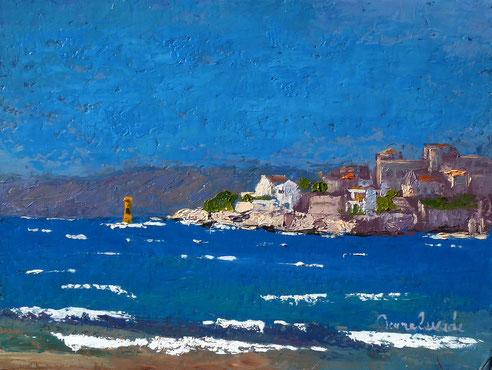 Marseille, mistral, Malmousque, plage du Prophète, Petit Nice