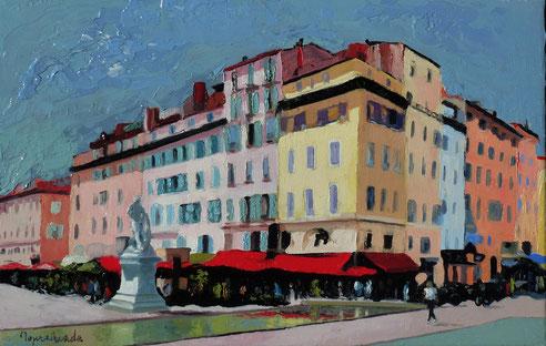 Marseille, cours, estienne d'Orves, Milon de Croton, Pierre Puget, sculpteur, sculpture, Michel Ange
