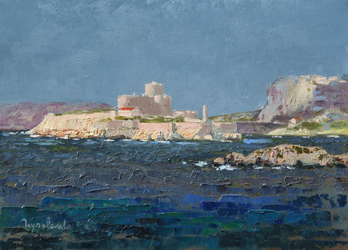 Château d'If, Frioul, Méditerranée, Jean Baptiste Olive,
