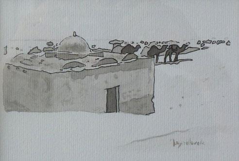 Sahara, Algérie, Tunisie, dromadaires. oasis,