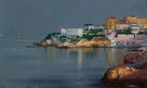 Marseille, Malmousque, baie, Corniche, Petit Nice, Passedat, pont Fausse Monnaie,Jean Baptiste Olive,