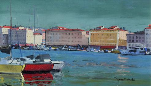 Marseille, Vieux-Port, quai, Rive Neuve,marine, Jean Baptiste Olive,