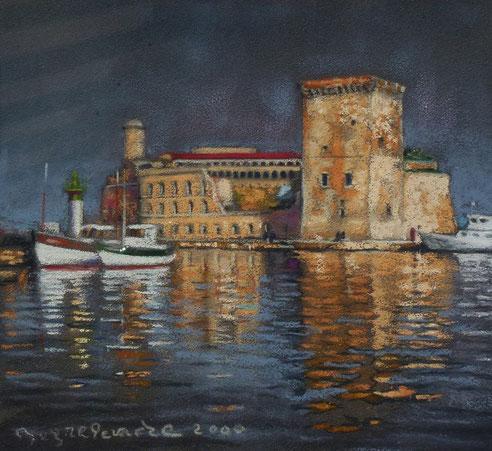 Douane, Marseille, Vieux-Port, fort, Saint Jean, tour, roi René, mucem,