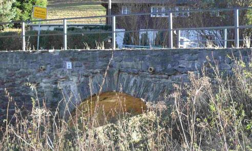Die Grenzbrücke nach Burkhardtsdorf
