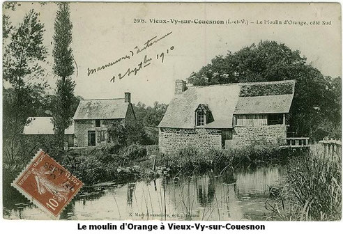le moulin d'Orange Vieux-Vy-sur-Couesnon