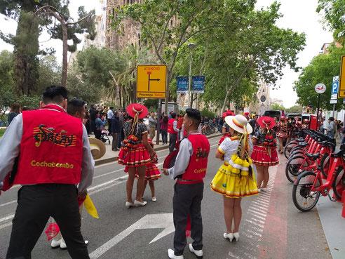 Барселона, апрель, праздники