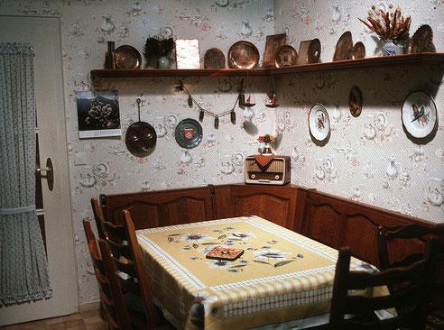 Wo einst ds Schandmaul der Lindenstraße Regiment führte: Else Klings Küche im Technik-Museum Speyer. Foto: Technik-Museum Speyer