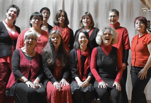 vokalensemble CHORona, musikalische Leitung Doreen Rother