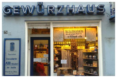 GEWÜRZHAUS ALTSTADT*Mertensgasse  25*40213 Düsseldorf