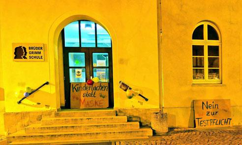 Haupteingang der Brüder Grimm Schule Calvörde