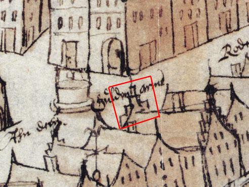 Münster-Plan von 1609 - Stadtarchiv Bad Homburg v.d.Höhe