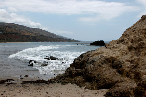 Leo Carillo State Park, California, Highway 1, USA