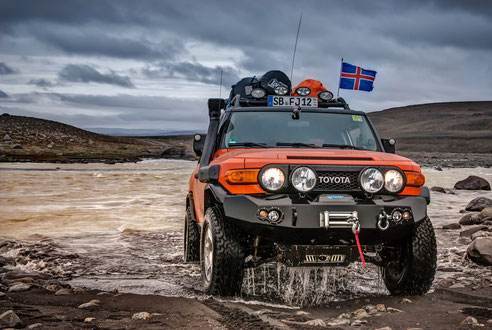 Iceland even has love for our FJ
