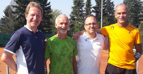 Jürgen Biedermann, Gennaro Iacobelli, Rainer Gansel und Dirk Traichel