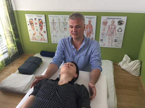 Cranio Sacral Therapie mit Robert Schultes