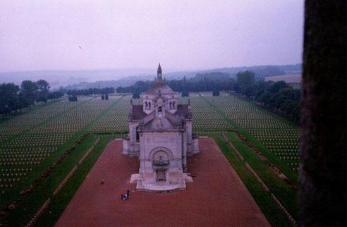 La Chapelle N D de Lorette Vue du haut de la Tour Lanterne